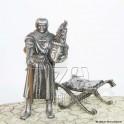 Chevalier Lancelot de la table ronde -  Etains du Graal