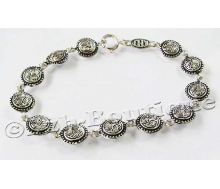 Triskel and beaded bracelet by KELT