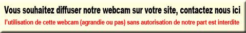 autorisation de mise en place de webcam