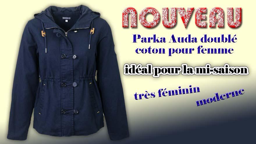 Parka Auda pour femme