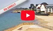 Webcam de la plage des sables blancs - Douarnenez